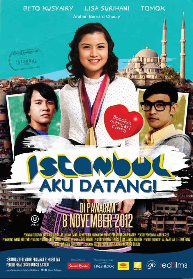 Review Filem Istanbul Aku Datang