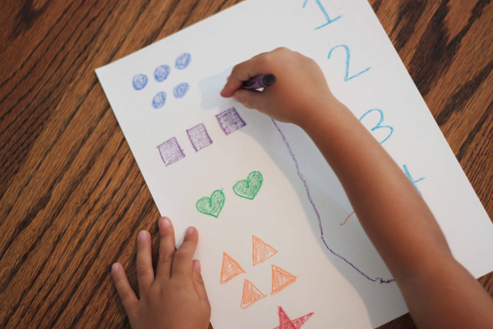 Playing House Diy Preschool Word And Number Worksheets