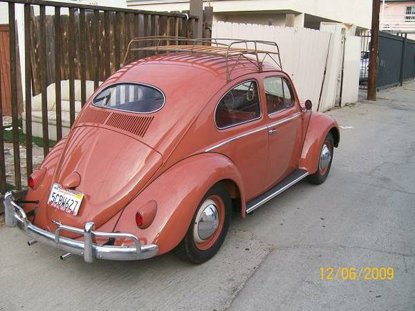 1956 VW Beetle Oval Window For Sale