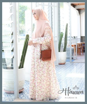 Hawwa Dress Cream