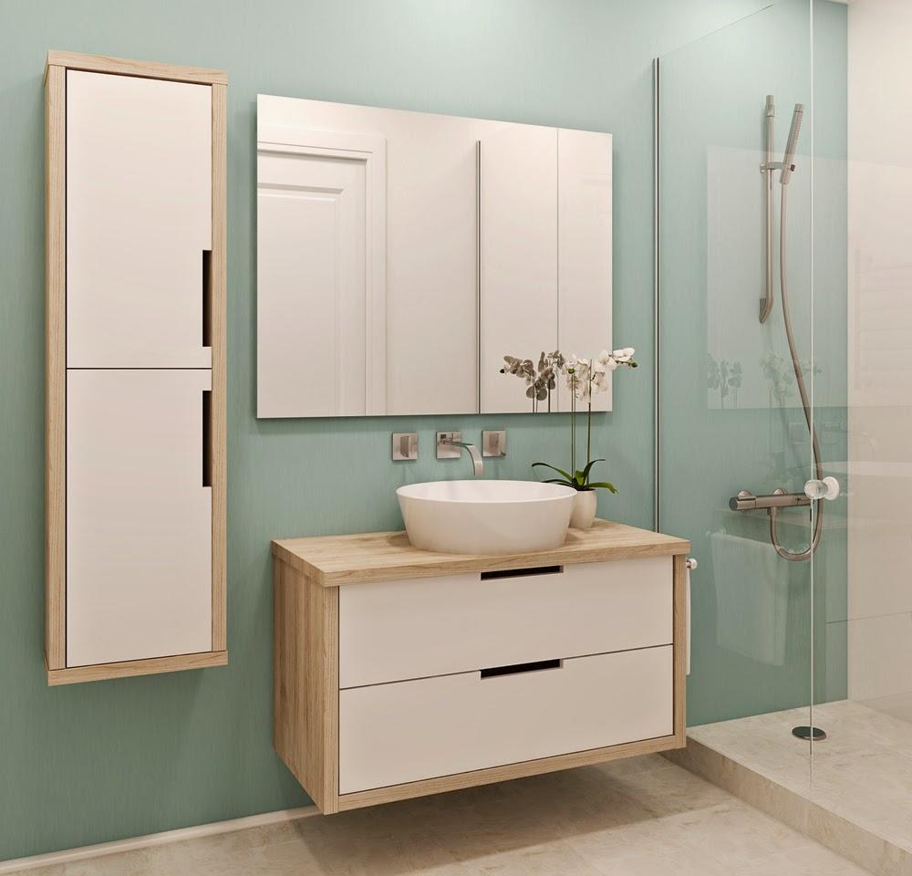 C mo elegir muebles de ba o revista tendenciadeco for Muebles de bano para espacios pequenos