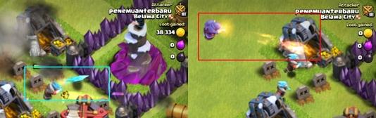 Perbedaan Kemampuan Ice Wizard dengan Wizard dalam Game Clash of Clans