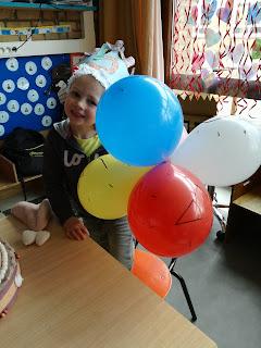 Alise is 5 jaar geworden