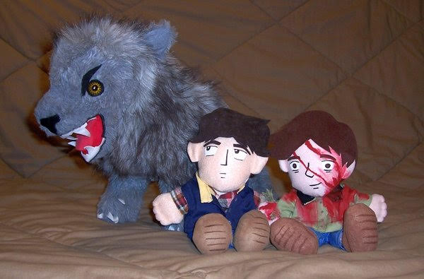 Muñecos de Un Hombre lobo americano en Londres