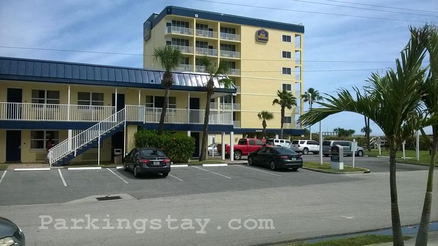 Parkingstay Com Best Western Ocean Beach Hotel Cocoa Beach