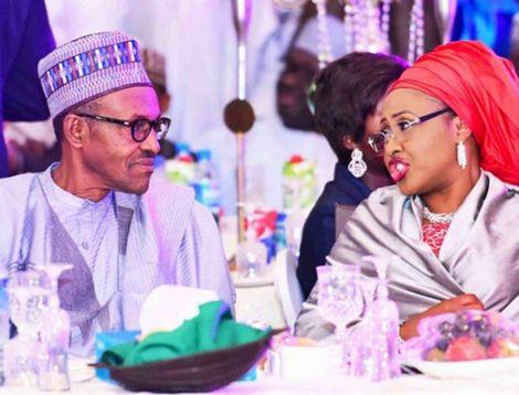 You Belong To The Kitchen...Prez Buhari Replies Wife (VIDEO)