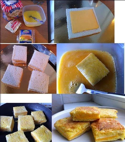 Roti Telur Lapis Cheese
