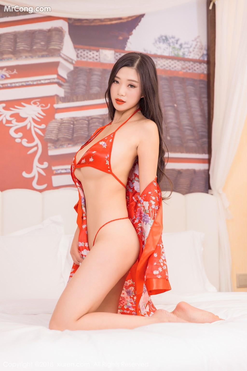 Image XIUREN-No.886-KiKi-MrCong.com-004 in post XIUREN No.886: Người mẫu 宋-KiKi (41 ảnh)