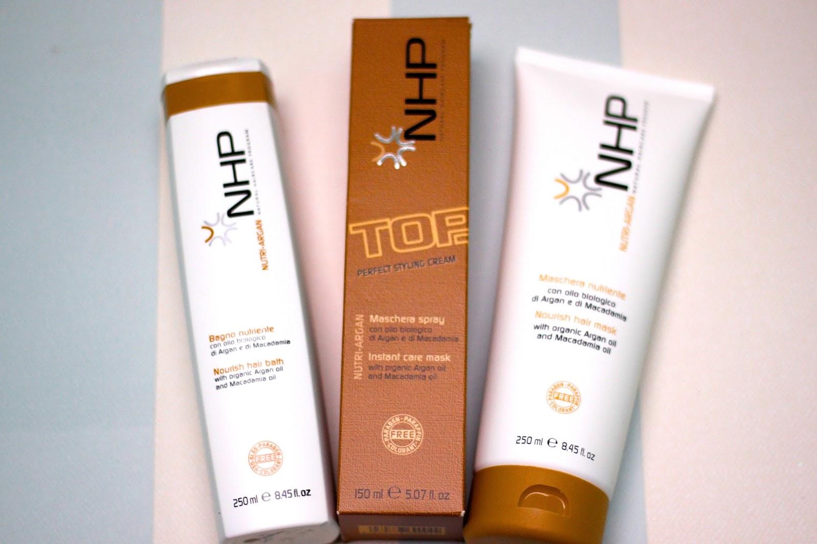 Nutri-Argan - Natural Haircare Program from NHP