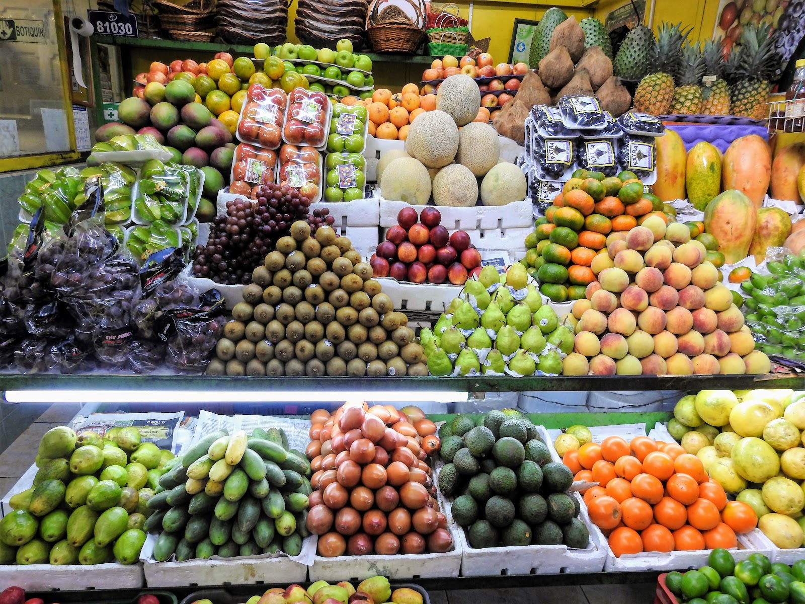 fruits and vegetables, colombia