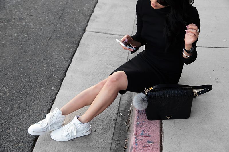 56dfa6f89ce1 na-kd fashion dress + windsor smith sneakers - the Versastyle
