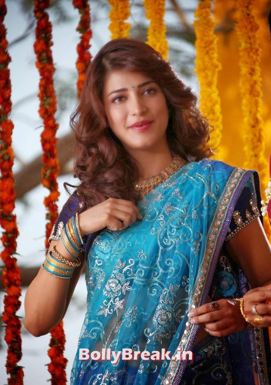 Shruti Haasan In Saree