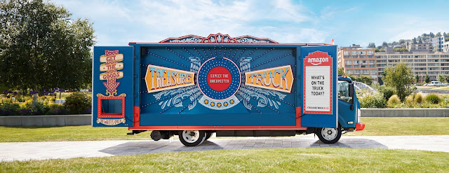 Amazon Treasure Truck: yet another POS that turns shopping into a scavenger hunt