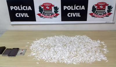 POLÍCIA CIVIL DE REGISTRO-SP MAIS UM TRAFICANTE DE DROGAS EM SETE BARRAS