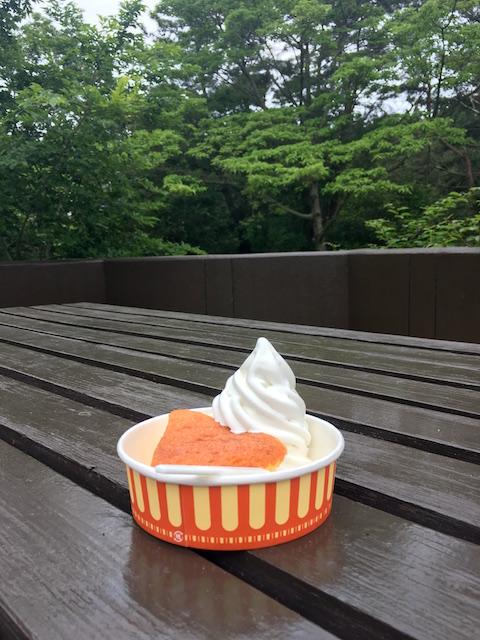 六甲山牧場のケーキ&ソフトクリーム
