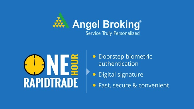Open Angel Broking Trade online now ,Trade now at Rs 15* per order