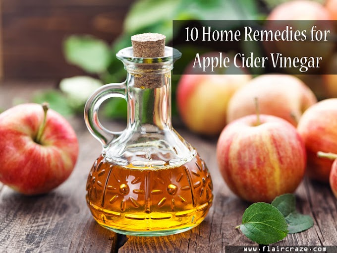 10 home remedies of apple cider vinegar