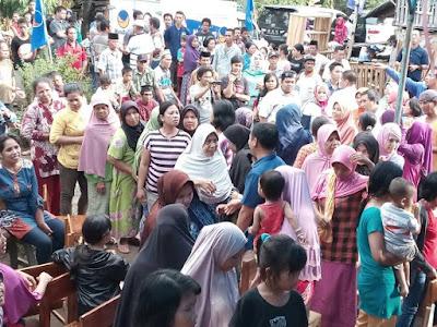 DPW Nasdem Sulsel Peduli Warga Kurang Mampu di Takalar