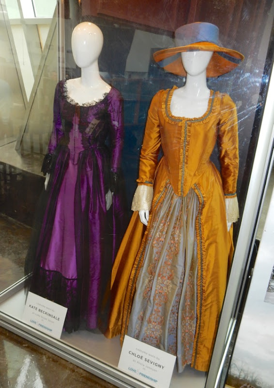 Kate Beckinsale Chloe Sevigny Love Friendship film costumes