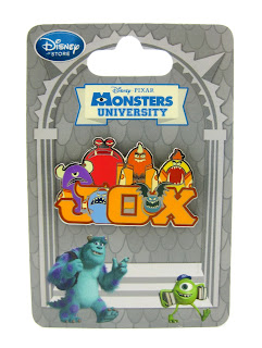 monsters university JOX pin disney store