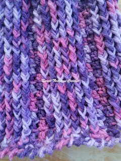 free crochet pattern, free crochet beanie pattern, free crochet pixie cap pattern, front post double crochet stitch, fpdc, post stitch, berry beanie, 8 ply acrylic yarn, Knit & Purl yarn,