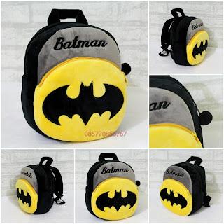 Tas Boneka Import Batman 2 Kantong