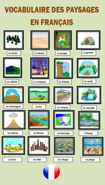 Przyroda - słownictwo 3 - Francuski przy kawie