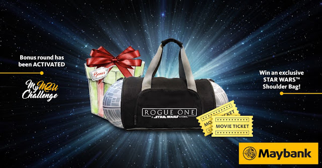 Maybank GSC Movie Tickets Rogue One A Star Wars Story Shoulder Bag