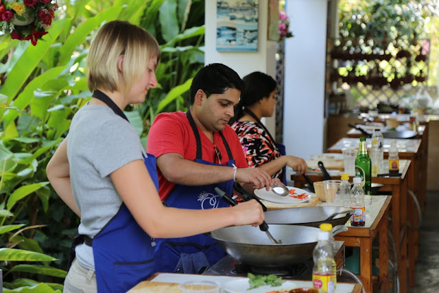 Thai Secret Cooking Class Photos & Video. March 7-2017. Pa Phai, San Sai District, Chiang Mai, Thailand.