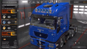 Improved Iveco Stralis mod 1.0