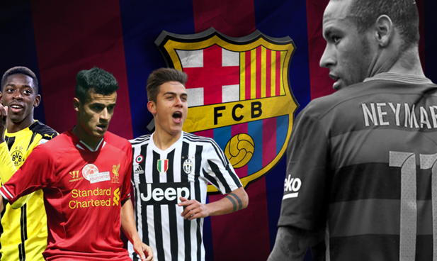 Tiga Kandidat Kuat Pengganti Neymar di Barcelona