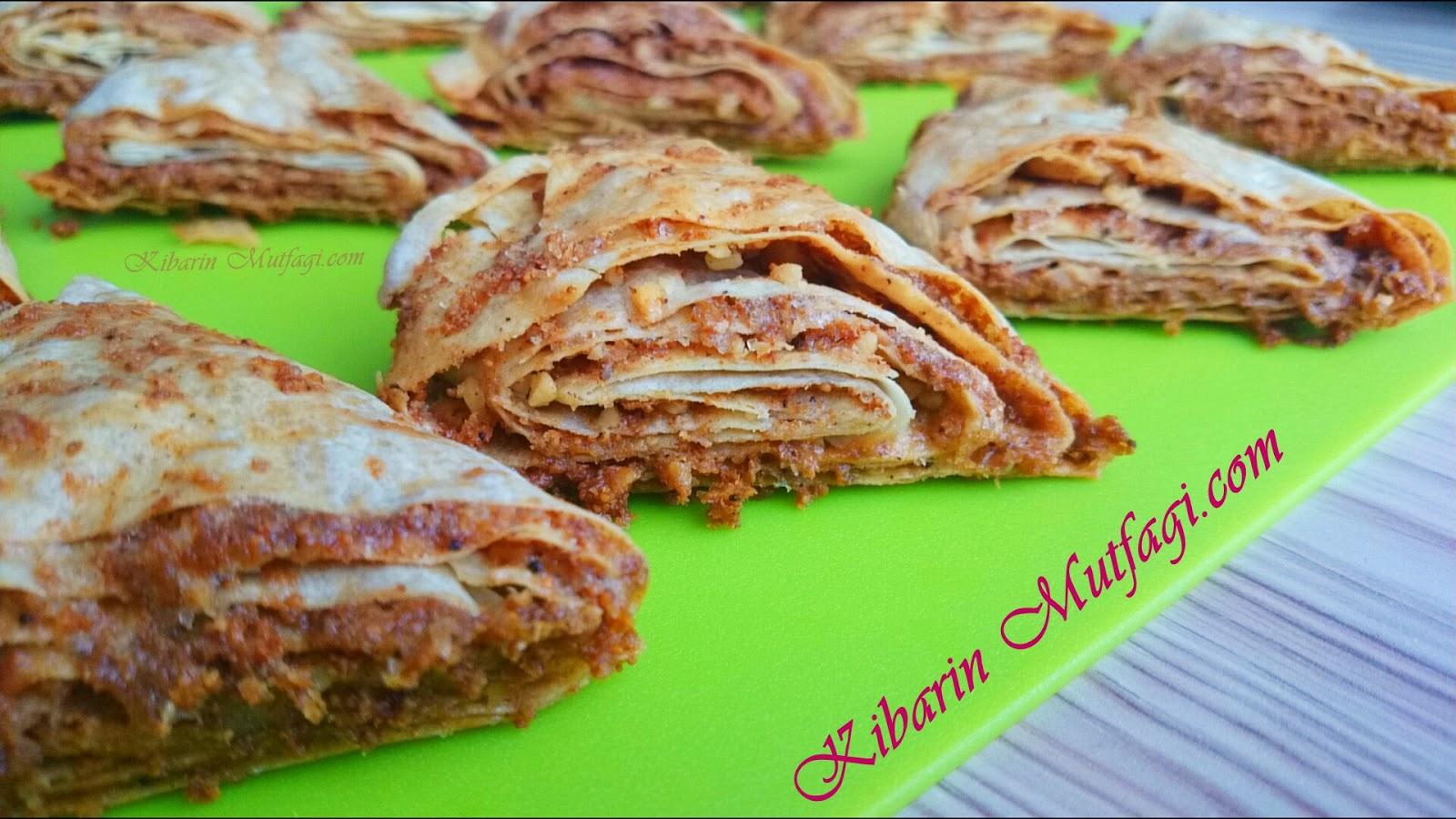 Tek yufka ile 5 dakkada tavada kolay börek yapılışı – Pırtık böreği tarifi – Kahvaltılık tarifler
