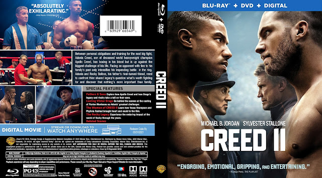 Creed II Bluray Cover