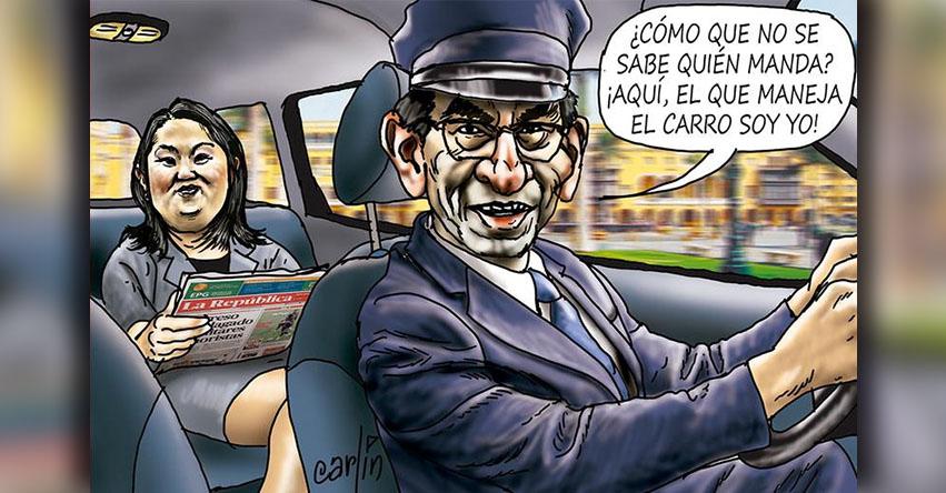 Carlincaturas Jueves 21 Junio 2018 - La República
