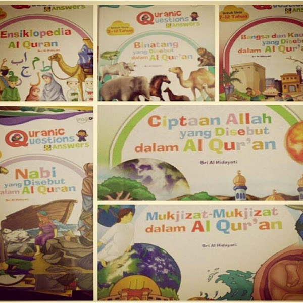 BUKU QURANIC QUESTION AND ANSWER (11 BUKU DALAM 1 PAKET)