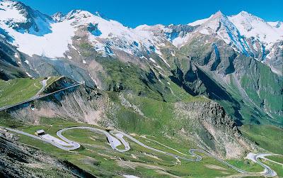 Alpine scenery a great drive