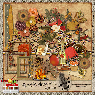September 2018 Blog Train Rustic Autumn