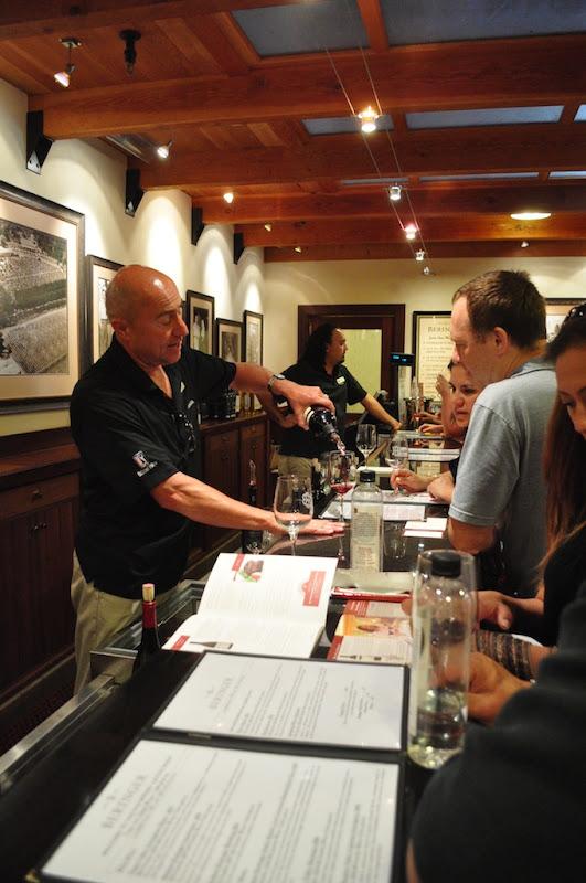 Mondavi wine tasting experience napa valley
