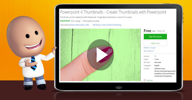 [100% Off] Powerpoint 4 Thumbnails - Create Thumbnails with Powerpoint| Worth 45$