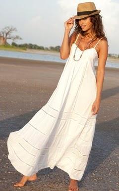 Bajo vestido blanco de universitaria - 5 3
