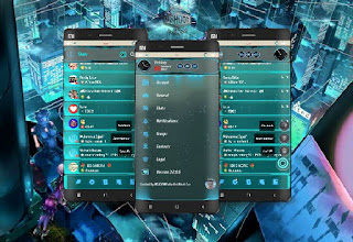 BBM MOD Chat Me - Light Evolotion v3.2.0.6 Transparant Apk Terbaru 2017
