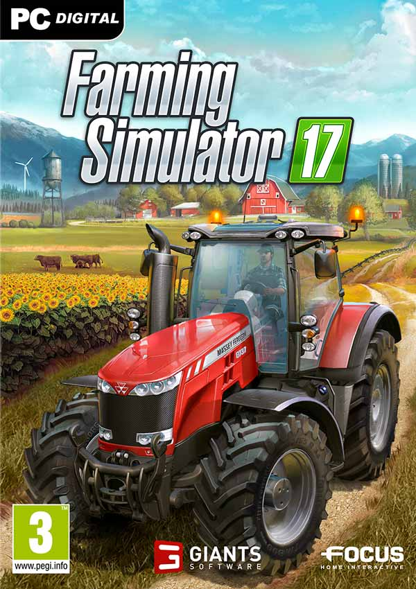 Farming Simulator 17 Download Cover Free Game
