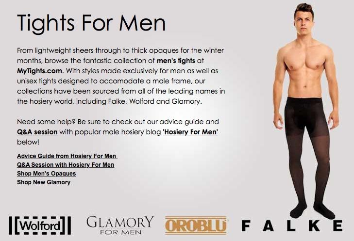 Benefits of men wearing pantyhose
