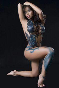 body paint images