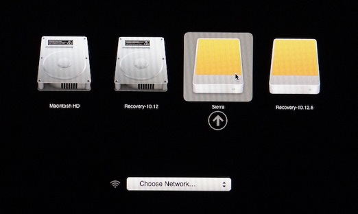 Change startup Disk