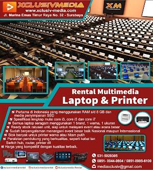 Tempat Sewa Laptop dan Printer Surabaya