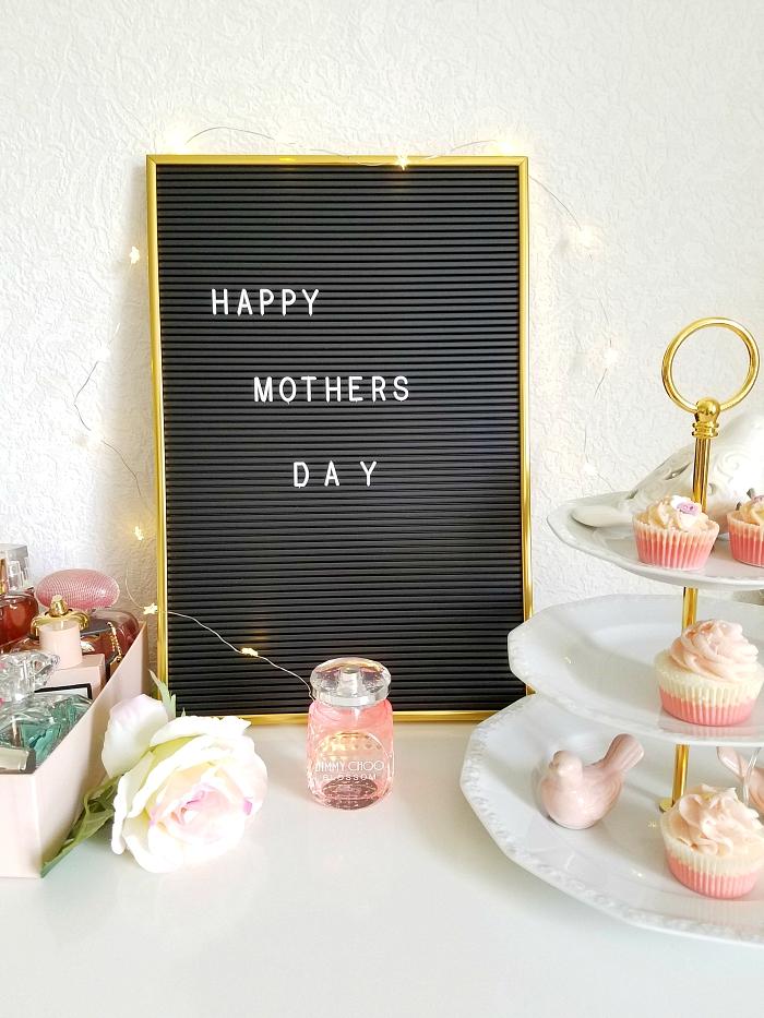 Geschenkideen Muttertag 2018 - Vintage Letter Board / Buchstaben Tafel von Radbag 1