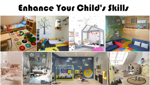 Montessori Bedroom Decorations To Enhance Your Child's Skills