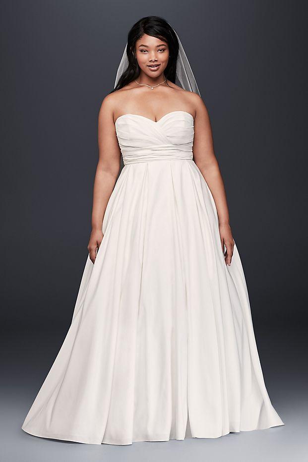 David's Bridal Gown, Shop Wedding Gowns