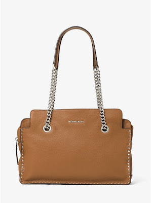Michael Kors Astor Large Leather Satchel $110 (reg $368)
